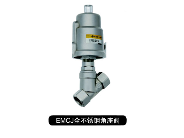 EMCJ Series Full Stainless Steel Angle Valve